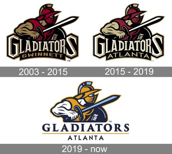 Atlanta Gladiators Logo historу