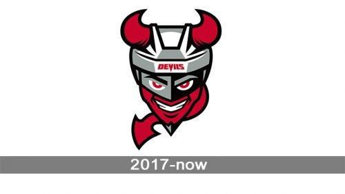 Binghamton Devils Logo history