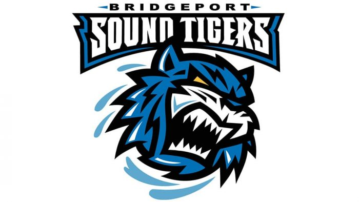 Bridgeport Sound Tigers Logo 2001