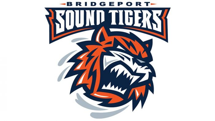 Bridgeport Sound Tigers Logo 2005