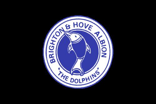 Brighton Hove Albion logo 1974