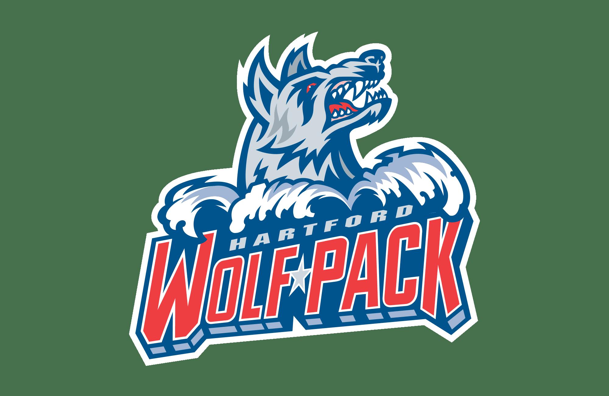 Hartford Wolf Pack Logo 1997