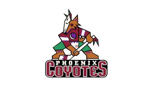 Phoenix Coyotes Logo 1996