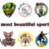 Top-50 most beautiful sports logos