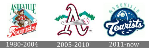 Asheville Tourists Logo history