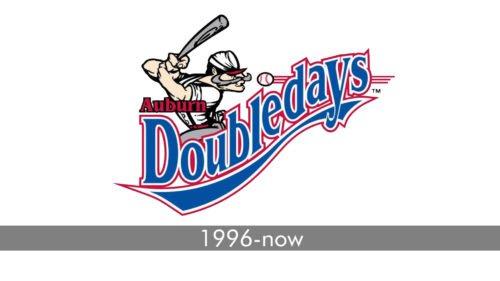 Auburn Doubledays Logo history