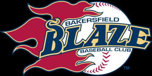 Bakersfield Blaze Logo 1995