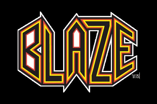Bakersfield Blaze Logo 2001
