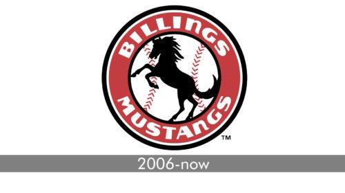 Billings Mustangs Logo history
