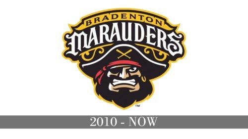 Bradenton Marauders Logo history