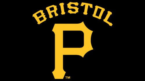 Bristol Pirates Logo baseball