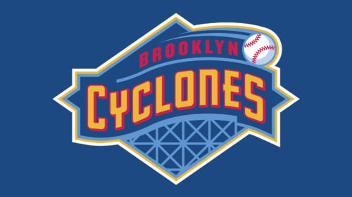 Brooklyn Cyclones Logo baseball