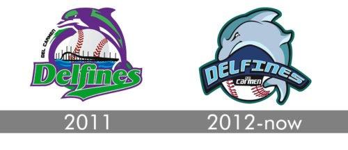 Carmen Delfines Logo history