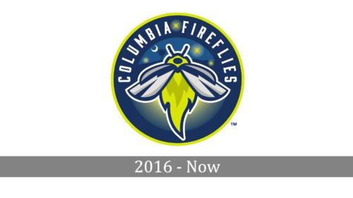Columbia Fireflies Logo history