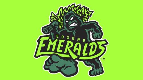 Eugene Emeralds Logo baseball