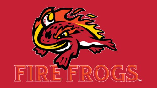 Florida Fire Frogs Emblem