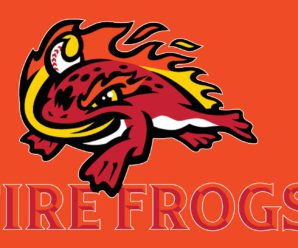 Florida Fire Frogs Logo