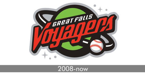 Great Falls Voyagers Logo history