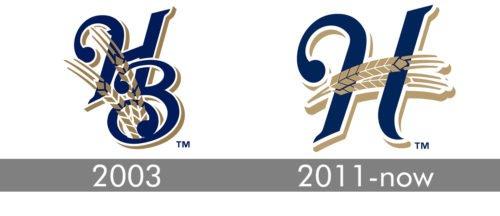Helena Brewers Logo history