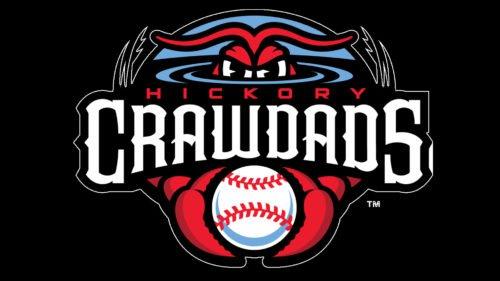 Hickory Crawdads emblem