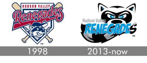 Hudson Valley Renegades Logo history