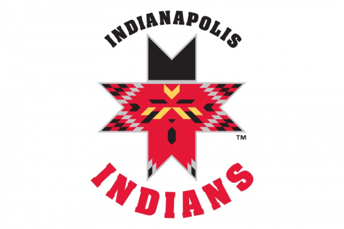Indianapolis Indians Logo 1995