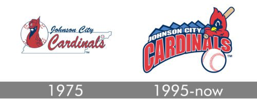 Johnson City Cardinals Logo history