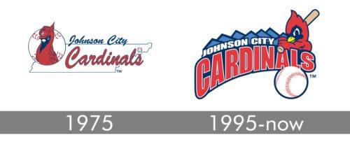 Johnson City Cardinals Logo history