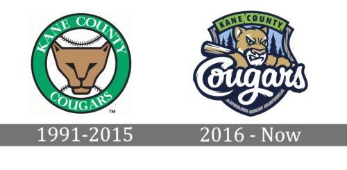 Kane County Cougars logo history