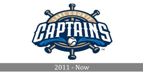 Lake County Captains Logo history