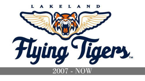 Lakeland Flying Tigers Logo history