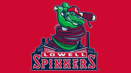 Lowell Spinners Logo baseball