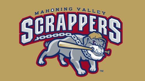 Mahoning Valley Scrappers Logo baseball