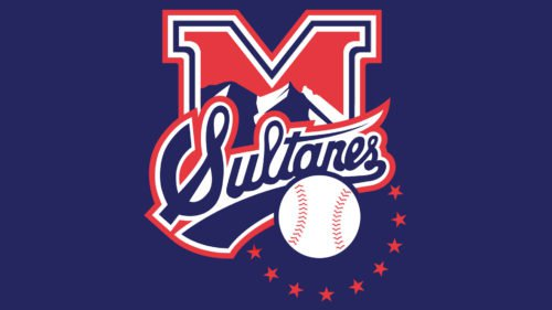 Monterrey Sultanes Logo baseball