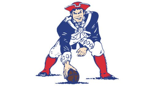 New England Patriots (1971-1992) logo