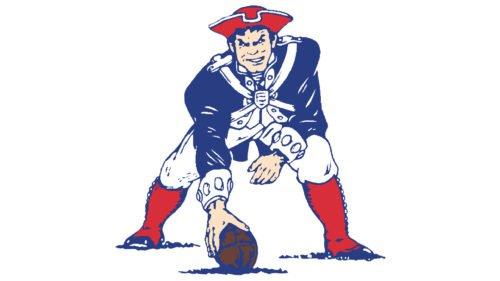 New England Patriots (1971-1992) logo