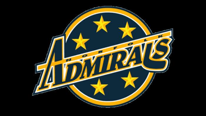 Norfolk Admirals Logo 2000