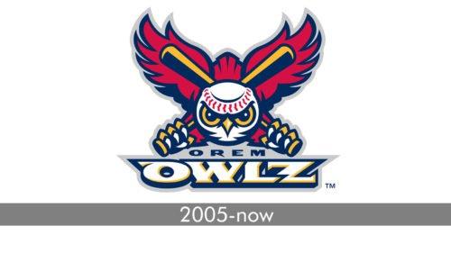 Orem Owlz Logo history