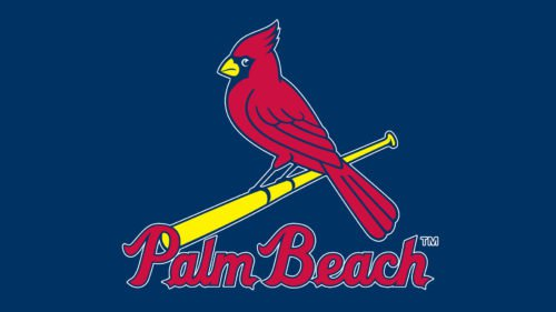 Palm Beach Cardinals emblem