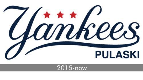Pulaski Yankees Logo history