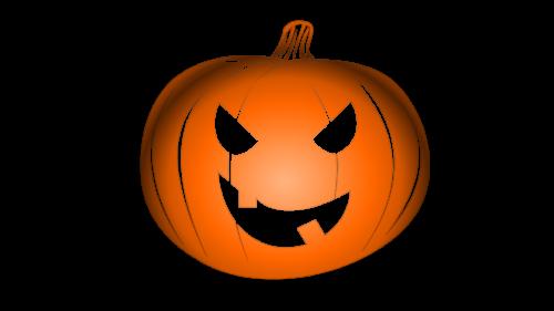 Pumpkin Halloween Logo