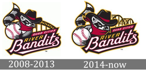 Quad Cities River Bandits Logo history