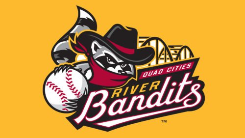 Quad Cities Rive r Bandits emblem