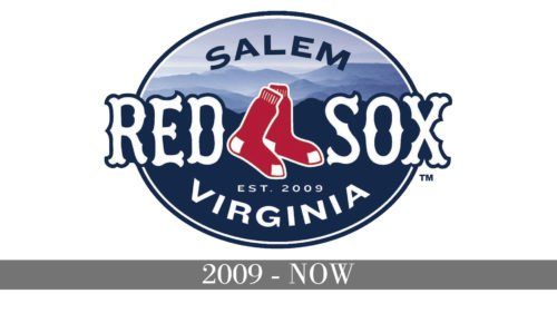 Salem Red Sox logo history