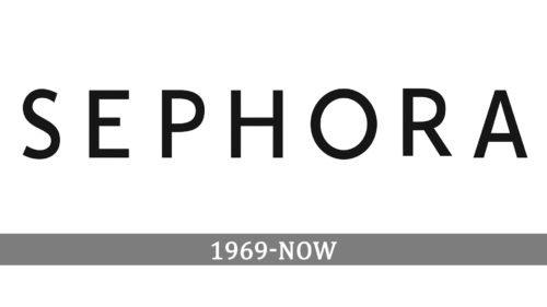 Sephora Logo history