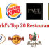 The World's Top 20 Restaurant Logos