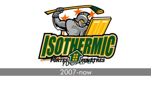 Thetford Mines Isothermic Logo history