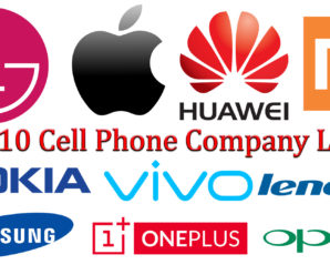 📱 Top-10 Cell Phone Company Logos