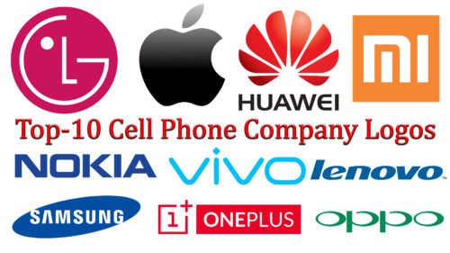 top 10 cell phone company logos