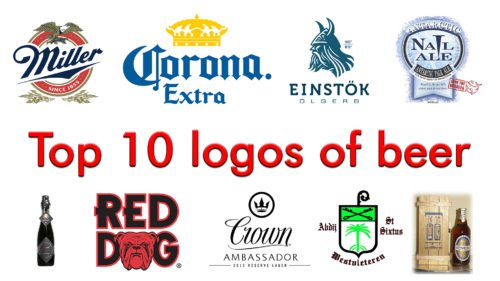 Top 10 logos of beer